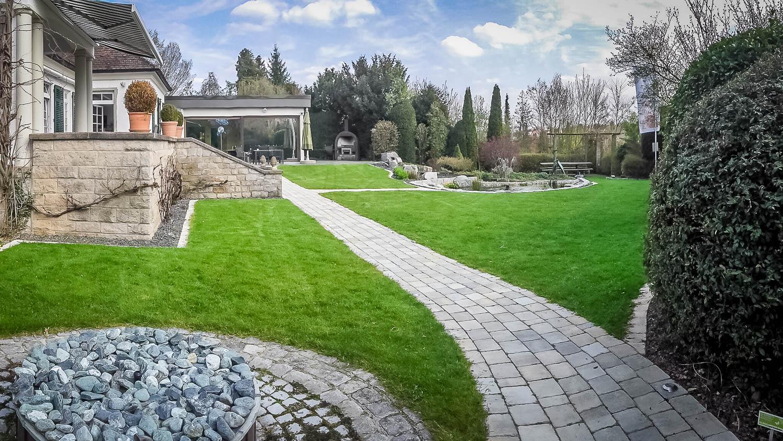 Gartenanlage Villa Beet