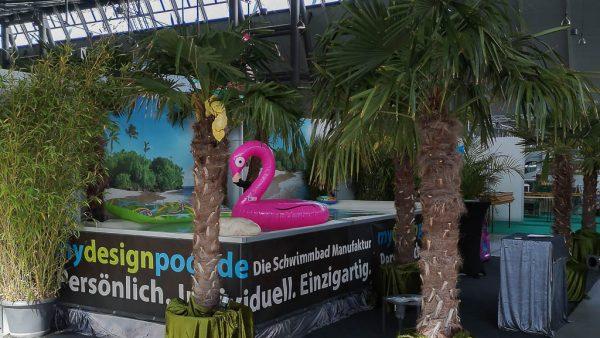 Pool- und Schwimmteich Bade Lagune von myDesignPool - Poolbauer und Schwimmbadbauer hier auf der Messe Stuttgart Deutschland Baden-Wuerttemberg-ct