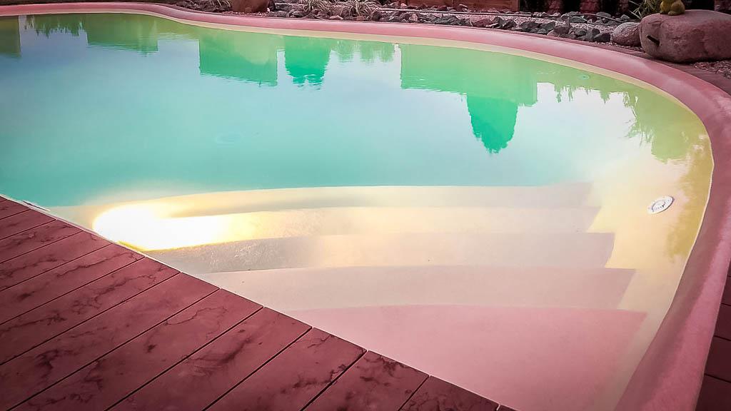 mydesigpool: individueller Pool- und Schwimmbad-Bau, Projekt Ulm 2019 LED-Beleuchtung