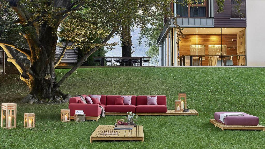 Barcode | Kollektion | Varashin Outdoor Therapy Möbel | Gartenmöbel aus Italien
