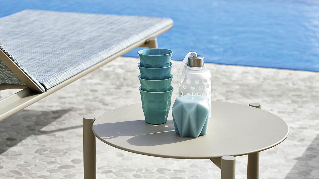 Bahia | Beistelltisch | Varashin Outdoor Therapy Möbel | Gartenmöbel aus Italien