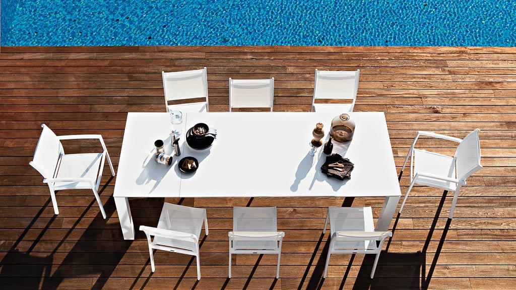 Victor | Armlehnen-Stuhl | Varashin Outdoor Therapy Möbel | Gartenmöbel aus Italien